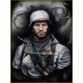 German Motorcyclist East Front WWII