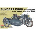 Zundapp K800 Motorcycle with STEIB Side Car Nr28