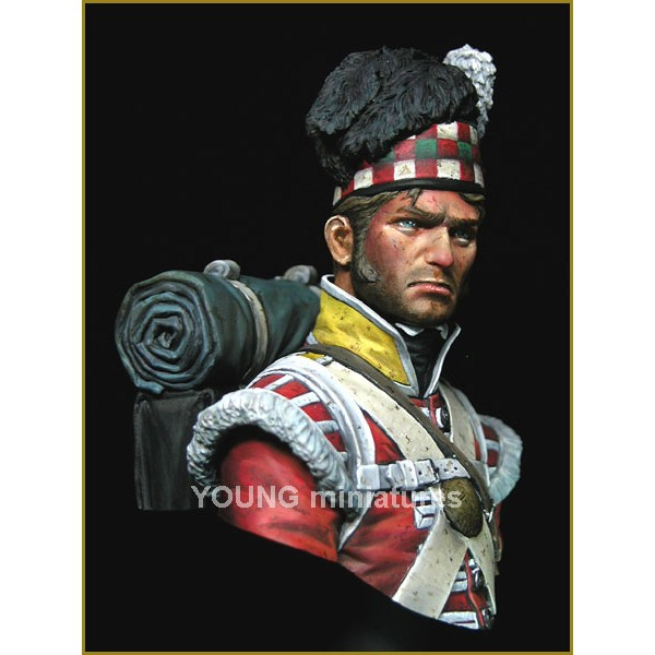 The 92nd Gordon Highlanders Waterloo 1815 Young Miniature