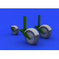 Gloster Meteor Wheels 1/32 (HK Model)