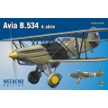 Avia B.534 IV. série Week End